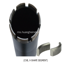 Diamond Core Bit (Segmen Khas)